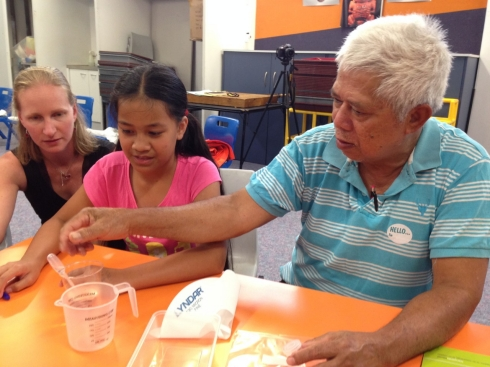 Sharing science with families