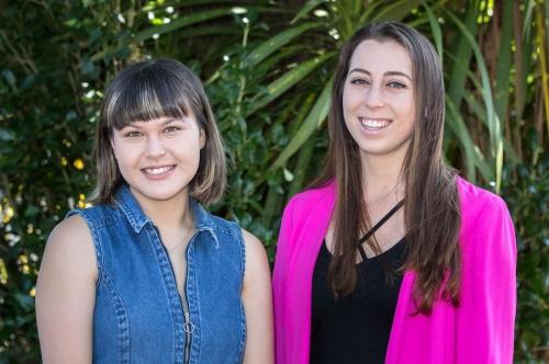 Penelope Jones and Victoria Brownlee